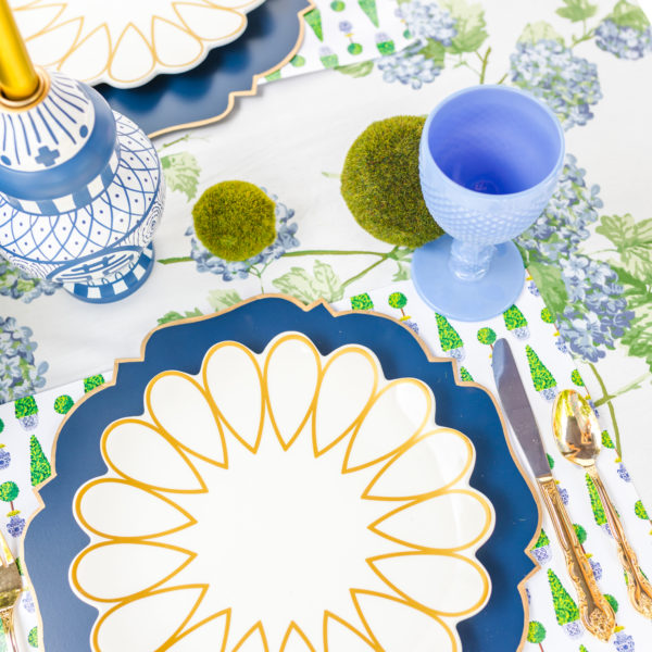 Summer Topiary Table