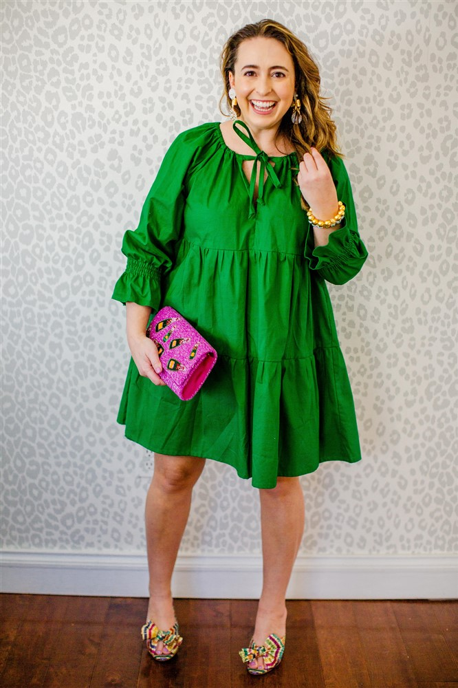 Green Birthday Dress