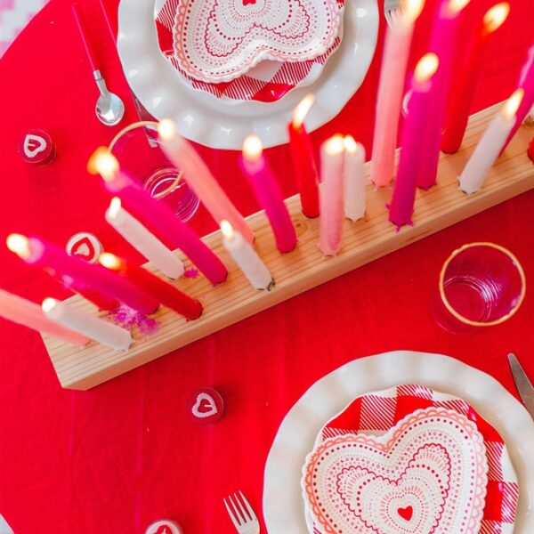 Valentine's Day Table for Two
